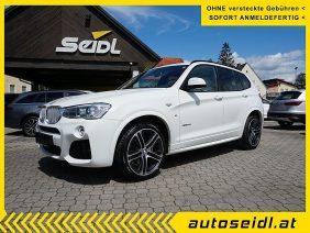BMW X3 xDrive35d Aut. *M-SPORTPAKET* bei Autohaus Seidl Gleisdorf in autoseidl.at