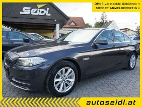 BMW 518d *LEDER+NAVI* bei Autohaus Seidl Gleisdorf in autoseidl.at