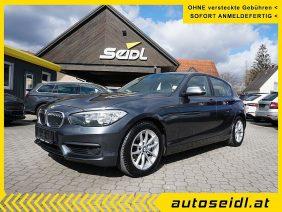 BMW 116d Efficient Dynamics *LEDER+NAVI* bei Autohaus Seidl Gleisdorf in autoseidl.at