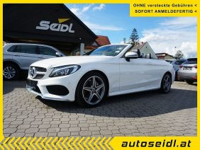 Mercedes-Benz C 220 d Cabrio *AMG+LED+AIRSCARF* bei Autohaus Seidl Gleisdorf in autoseidl.at