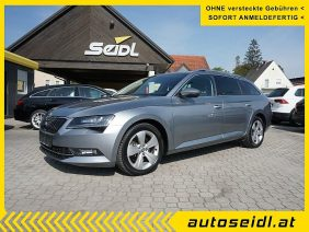 Skoda Superb Kombi 1,6 TDI Style DSG *NAVI+XENON+ACC* bei Autohaus Seidl Gleisdorf in autoseidl.at