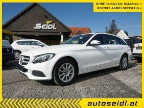 Mercedes-Benz C 200 d T Aut. *LED+NAVI* bei Autohaus Seidl Gleisdorf in autoseidl.at
